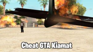 Cheat GTA San Andreas PS3 Kiamat